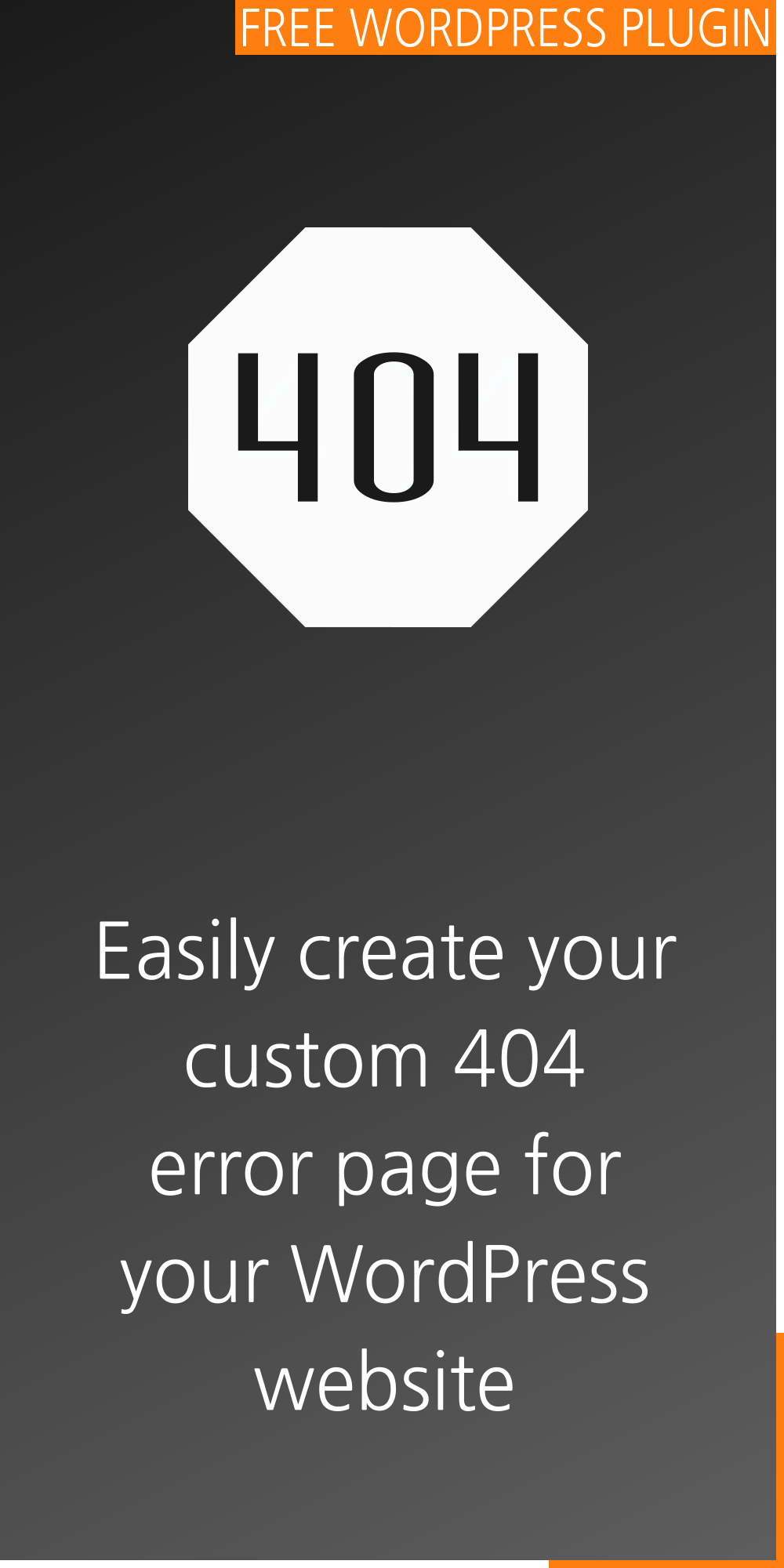 Custom 404 error page for WordPress | Peter's Plugins