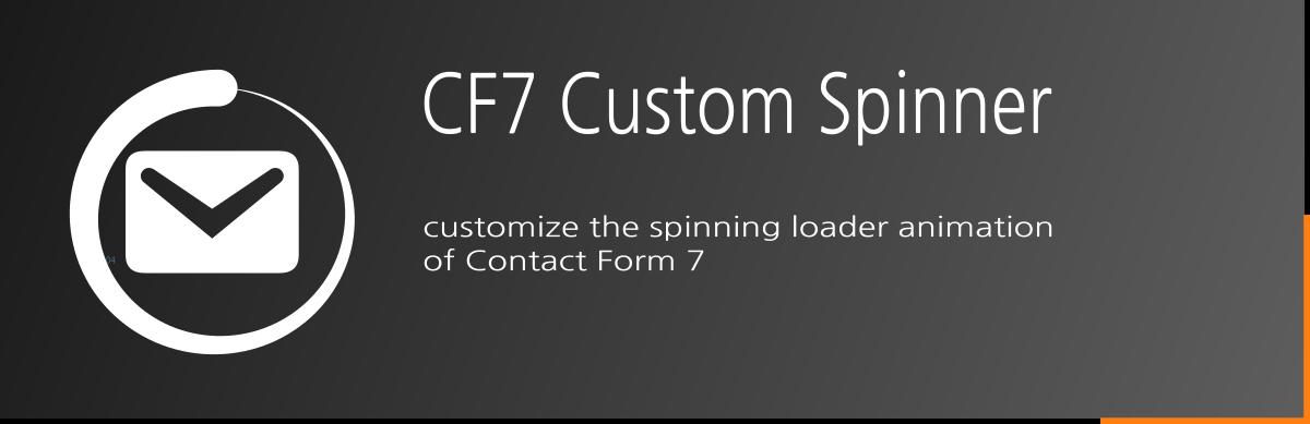 CF7 Custom Spinner - Free WordPress Plugin
