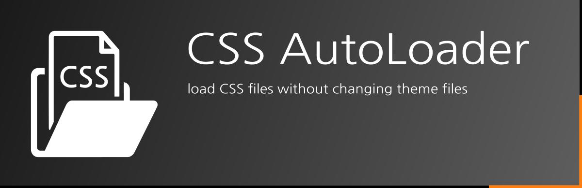 CSS AutoLoader - Free WordPress Plugin